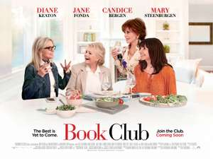 Free Cinema Tickets - Book Club - 29 May 2018 at 6:30pm