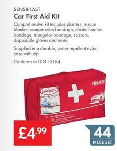 Sensiplast 44 Piece Car First Aid Kit – LIDL - £4.99