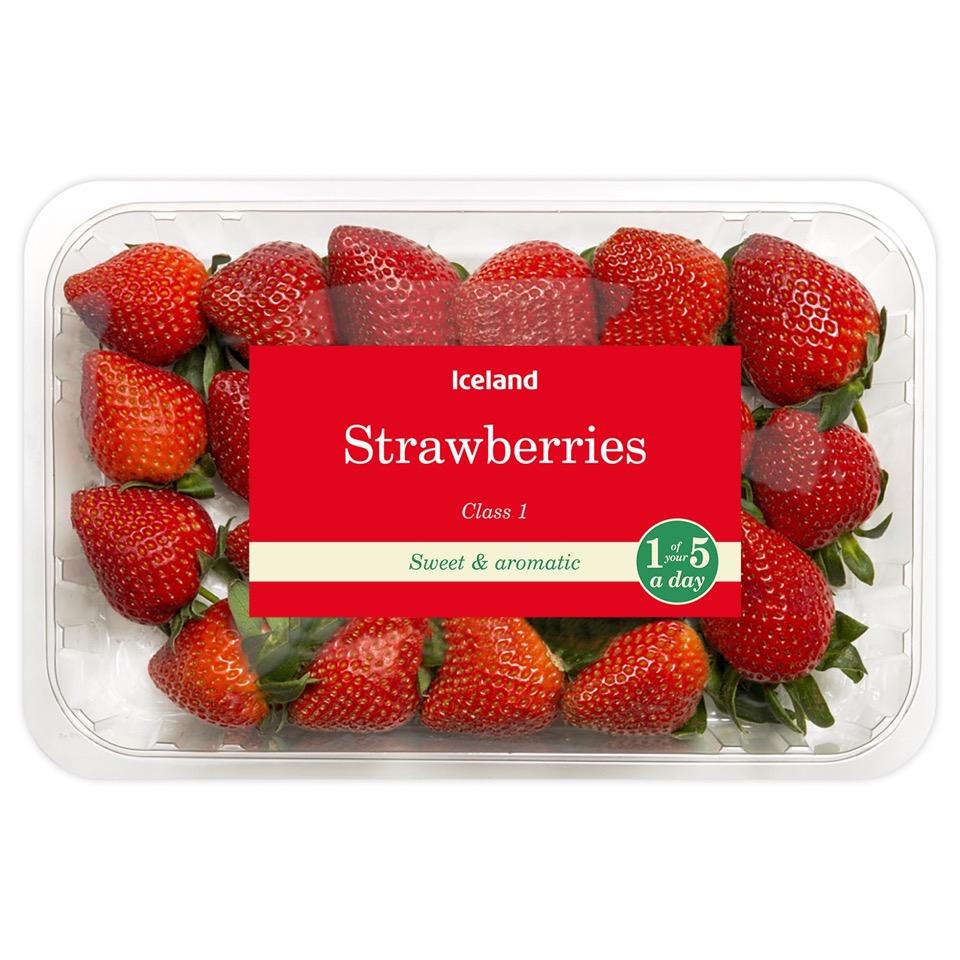 600g Strawberries Starbuy of the week £2@Iceland