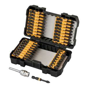 DEWALT DT70545T - 34 PIECE IMPACT TORSION SCREWDRIVER SET WITH ALUMINIUM SCREW LOCK £16.79 @  Toolsense
