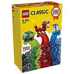 Classic Lego box 900 pieces.