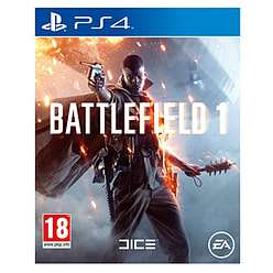 Battlefield 1 ps4 at game preowned £7.99