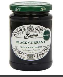 Tiptree Organic Black Currant Conserve 340 g (Pack of 3) amazon prime £5.61 S&S