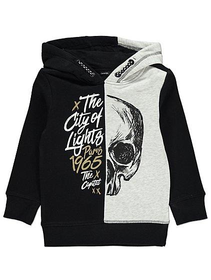 Skull slogan hoodie age 4-5 years £4 @ Asda