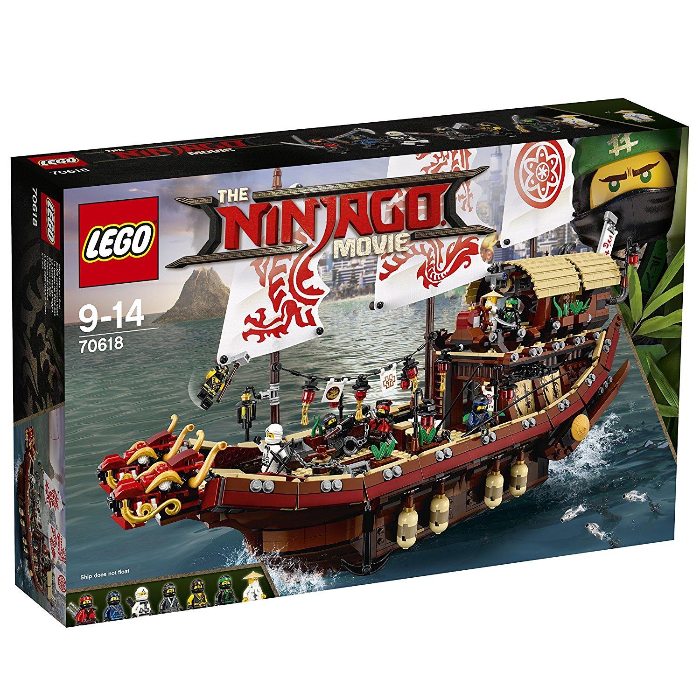 LEGO Ninjago Movie 70618 Destiny's Bounty Toy £61.66 Amazon