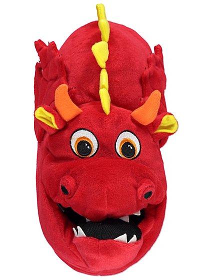 3D plush Dragon slippers sizes 1-2, 3-4 now £4 @ Asda