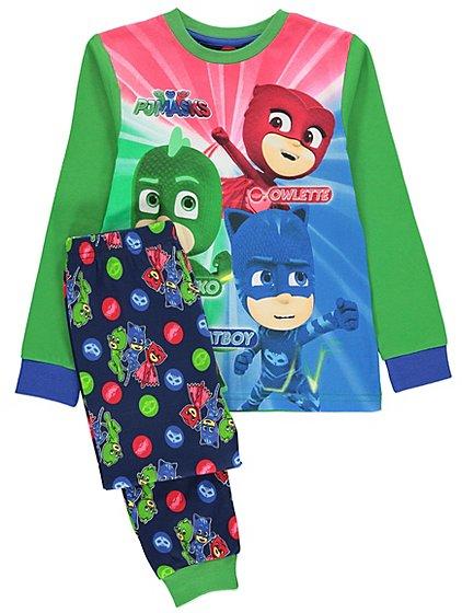 PJ Masks pyjamas or onesie ,various sizes £5 each @ Asda