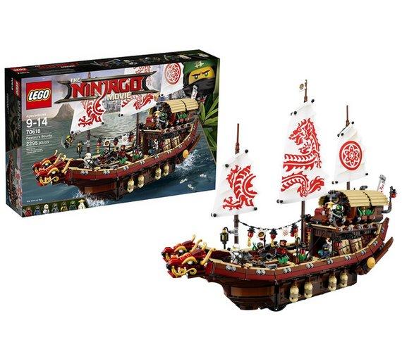 LEGO Ninjago Movie Destiny's Bounty - 70618 - £66.66 @ Argos