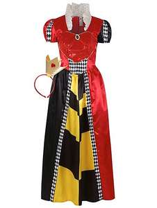 Adult fancy dress, Queen of Hearts,Alice,Wizard of Oz,Little Red Riding Hood £12 was £20 @ Asda