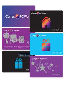 £10 Currys/Pc World E-Gift Card - £5 at Groupon (invite only)