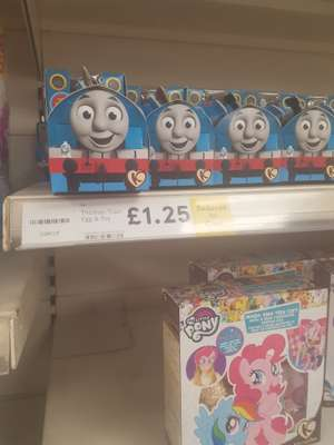 Thomas the tank engine egg and toy £1.25 instore at Tesco highwoods