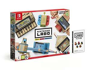 Nintendo Labo Multi Kit / Variety Kit for Switch - £43.48 delivered at Amazon France (with code)