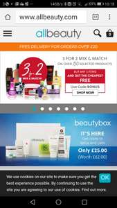 3 for 2 Mix and Match this weekend only at All Beauty