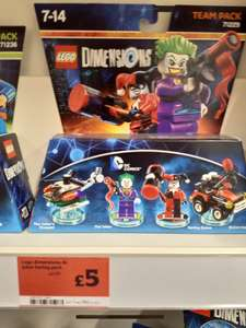 LEGO Dimensions Harley and Joker £5 instore at Sainsbury's (more inside)