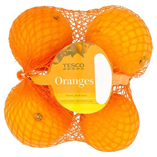Tesco Orange Min 5 Pack now 89p