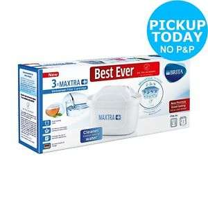Brita Maxtra Plus Filter Cartridge - 3 Pack £15.99  Argos on eBay (free c&c or +£3.95 delivery)