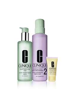 BIGDEAL I/II AND III/IV 30.67 + 3 DELUXE SAMPLES + 1 SAMPLE + FREE DELIVERY @ CLINIQUE