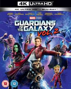 Guardians of the Galaxy Vol.2 UHD on 4K Blu-ray - £11.99 at Amazon PrimeNow (Free delivery on over £40 orders, otherwise £3.99)