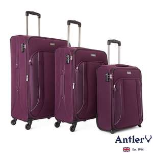 Antler Yavi Exclusive 3 Piece Soft Suitcase Set £99.99 Costco