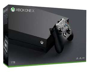Microsoft Xbox One X 1TB Console Black 4K 5.1 Channel Surround Refurbished at Tesco Ebay for £364