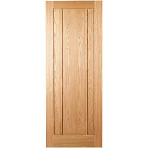 Wickes York Internal 3 Panel Oak Veneer Door - 1981 x 762mm was £104 now £68 at Wickes