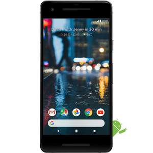 Google Pixel 2 64GB in Black - pristine refurbished, Grade A at Appliances Direct for £399.97