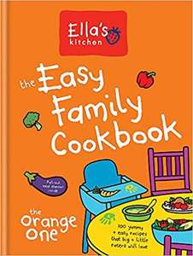 Free Ella's kitchen cookbook on £10 spend at boots
