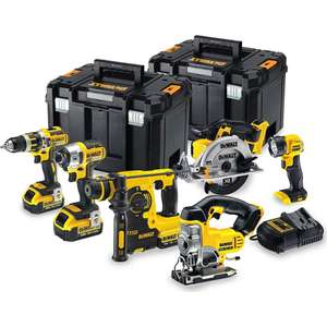 DEWALT DCK699M3T 18 V CORDLESS KIT (6-PIECE) £649.99 @ Toolsense