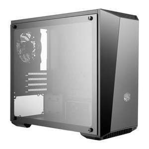 Cooler Master Glass MasterBox Lite 3.1 M-ATX Case [Tempered Glass side panel / Customisable Trim] £34.99 Delivered @ Scan