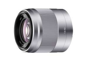 Sony E 50mm f/1.8 OSS Lens Silver SEL50F18 @ Toby Deals for £174.99