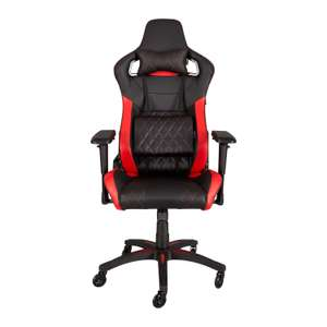 Corsair Red T1 RACE Black/Red Gaming Chair £189.98 Delivered @ Scan