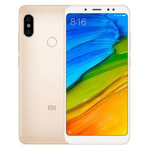 HK Stock][Official Global Version]Xiaomi Redmi Note 5 5.99 Inch Smartphone Snapdragon 636 4GB 64GB 5.0MP+12.0MP Dual Rear Cameras MIUI 9 OS 18:9 Full Screen - Gold £165.77 pre-sale @geekbuying