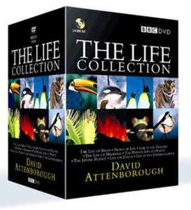 David Attenborough life collection DVD Boxset Used £10.90 delivered @ Music Magpie Ebay