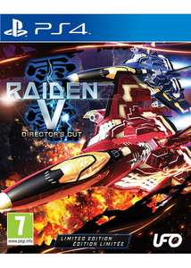 Raiden V: Director's Cut (Limited Edition) (PS4) £13.85 @ Base