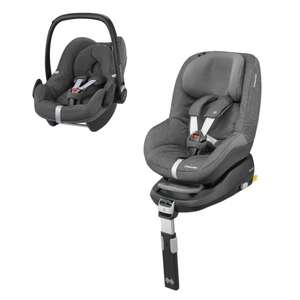 Maxi-Cosi Pebble and Pearl car seat with Familyfix Base bundle - £314.99 @ Pram Centre
