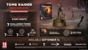 SHADOW OF THE TOMB RAIDER - ULTIMATE COLLECTOR'S EDITION (WAITING LIST!) - £179.99 @ Square Enix