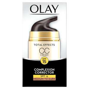 Olay total effect moisturiser CC Cream 50ml - £8 @ Morrisons (instore and online)