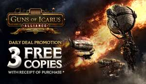 Guns of Icarus Alliance (PC) @ Steam - Possible 3 extra copies - £1.64