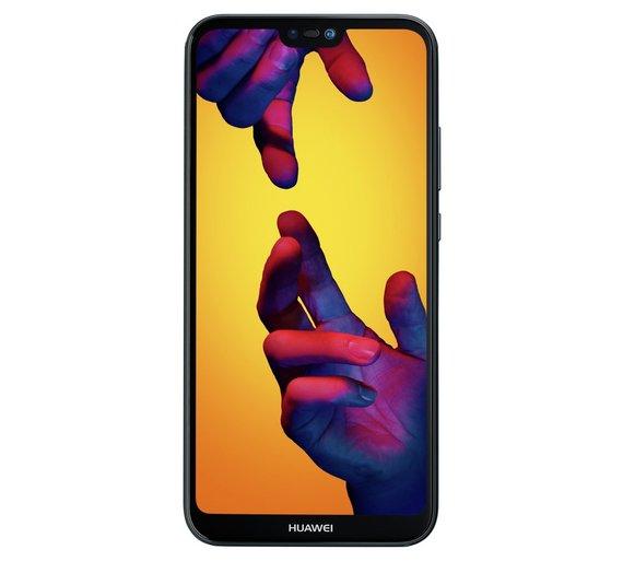 Sim Free Huawei P20 Lite Mobile Phone - Black + £10 voucher £299.95 @ Argos
