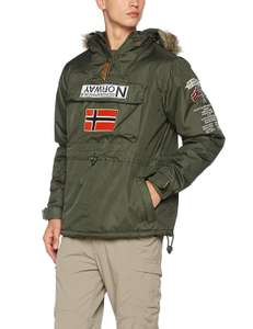 Geographical Norway Jacket Creek - Khaki - Size XL £38.25 at Amazon