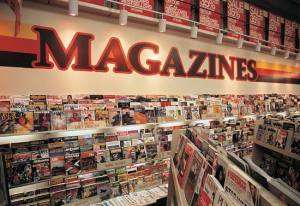 The Magazine Rack, a downloadable collection of over 34,000 digitized magazines and other monthly publications.