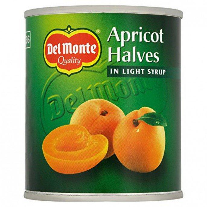 Del Monte Apricot Halves 227g now 20p instore @ Poundstretchers