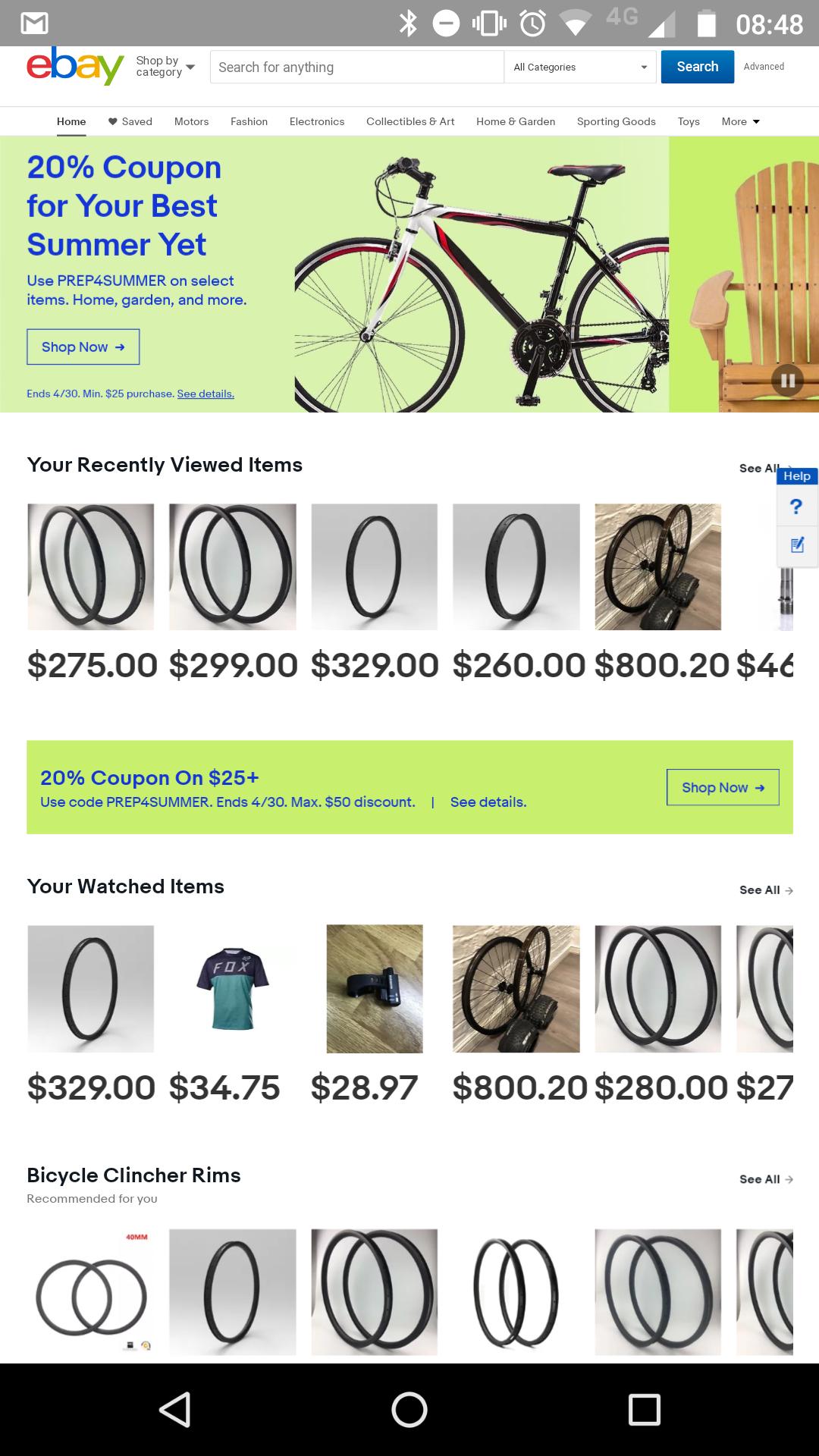 20% Off @ Ebay.com