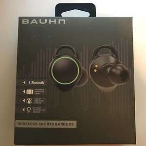 Bauhn wireless/Bluetooth earbuds reduced from £29.99 to £9.99 at aldi