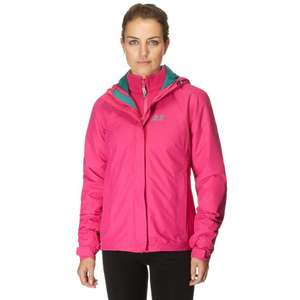 JACK WOLFSKIN Women's Crush 'N Ice 3 in 1 Jacket, £47.20 from ultimateoutdoors - £1 c&c (XS + XL only)