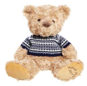 House of Fraser 12 Fraser Bear With Jumper - £6