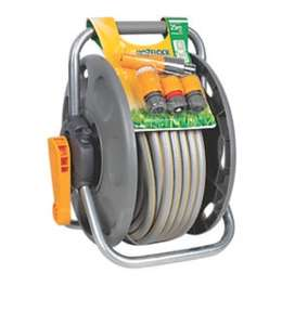 Hozelock 2 in 1 reel with hose 25m £32 @ B&Q