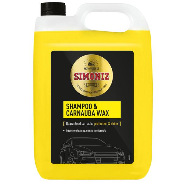 Simoniz Shampoo & Carnauba Wax - 5L £8.28 @ Molevalley farmers instore / online