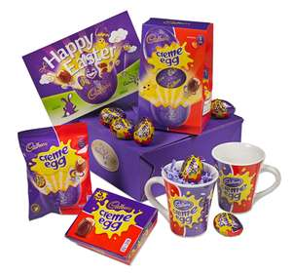 Cadbury Creme Egg Easter Gift - Now £9 at Cadbury Gifts Direct