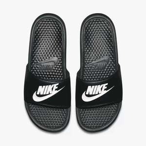 Nike 'Just Do It' Shower Slide - 36% off RRP - only £12.07 - Black & Navy available. @ Kitlocker